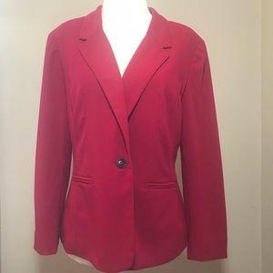 Classy Red Kensie Blazer